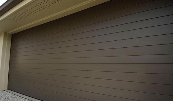 Aluminium Brown Remote Garage Doors In Cape Town